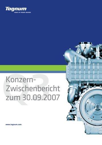 Q3Konzern - Investoren - Tognum AG