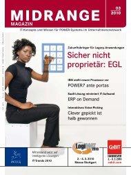 Sicher nicht proprietär: EGL - Midrange Magazin