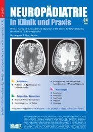 F. Aksu, Datteln - Neuropädiatrie in Klinik und Praxis