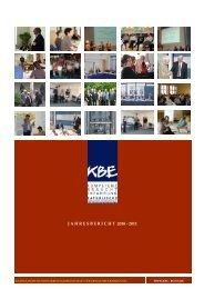jahresbericht 2010 - 2011 - Katholische Bundesarbeitsgemeinschaft ...