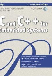 C und C++ für Embedded Systems - Mitp