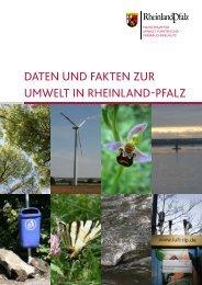 Daten unD fakten zur umwelt in rheinlanD-pfalz - Ministerium für ...