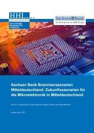 Sachsen Bank Branchenszenarien Mitteldeutschland ...