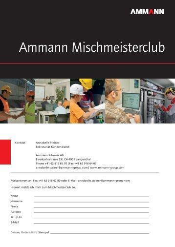Ammann Mischmeisterclub