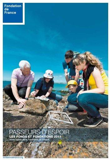 Les fonds et fondations 2011 - Fondation de France