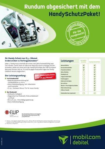 Rundum abgesichert mit dem HandySchutzPaket ! - Amid Elektronik