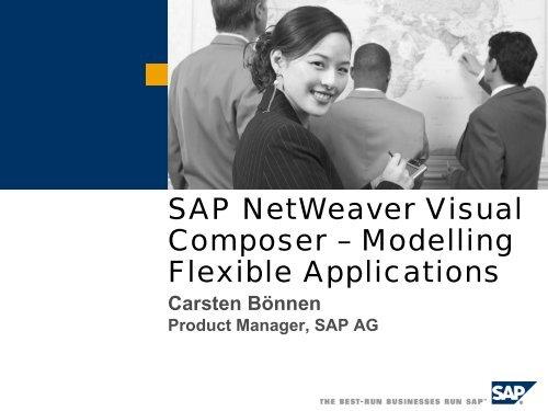 SAP NetWeaver Visual Composer – Modelling Flexible ... - Adfahrer