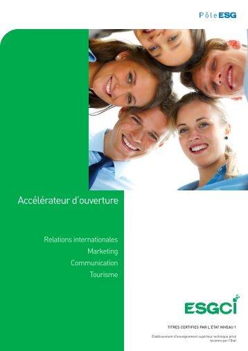 Brochure ESGCI FINAL:Mise en page 1 - L'Etudiant