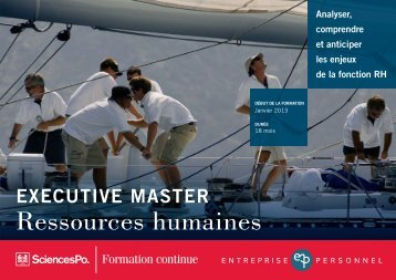 Executive master Ressources humaines | Sciences Po Formation ...