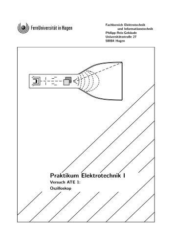 Praktikum Elektrotechnik I - FernUniversität in Hagen