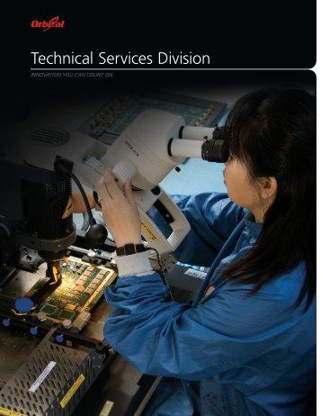 Technical Services Division - Orbital Sciences