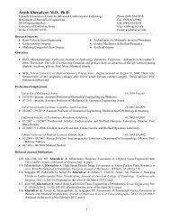 Arash Kheradvar, M.D., Ph.D. - Kheradvar Research Group ...