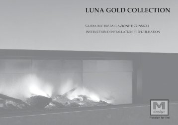 LUNA GOLD COLLECTION - Bortolotti Caminetti
