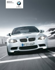 Current product catalogue - BMW Asia