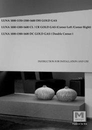 LUNA 1000-1150-1300-1600 DH GOLD GAS