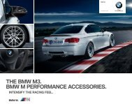 THE BMW M. BMW M PERFORMANCE ACCESSORIES. - BMW.com