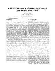 Common Mistakes in Adiabatic Logic Design and How to Avoid Them