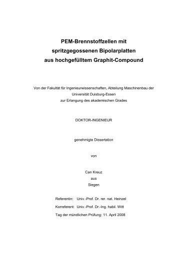 Text anzeigen (PDF) - bei DuEPublico - an der Universität Duisburg ...
