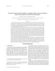 Seasonal and Interannual Variability of Atmospheric Heat Sources ...
