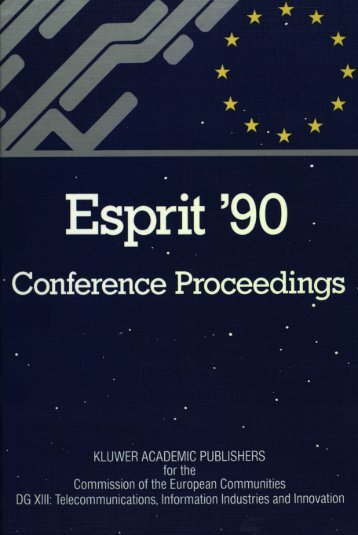 ESPRIT - Archive of European Integration - University of Pittsburgh