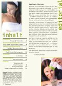Journal 02/2001 - Kosmetik-Institut biobio Winterthur - Seite 2