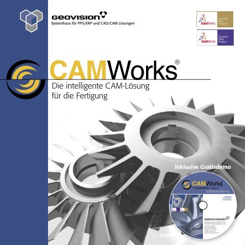 MWorks CAMWorks CAMWorks CAMWorks® - c+e forum AG