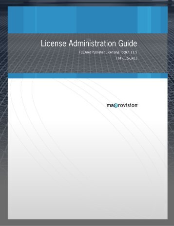 License Administration Guide - Sonnet Software