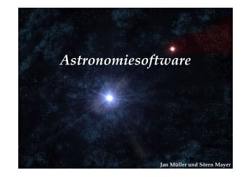 Astronomie-Software