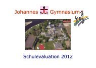 Schulevaluation 2012