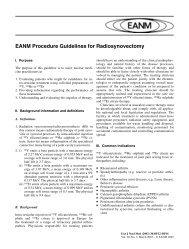 EANM Procedure Guidelines for Radiosynovectomy - European ...