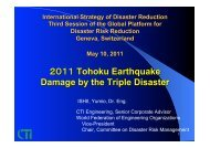 damage by the triple disaster - PreventionWeb