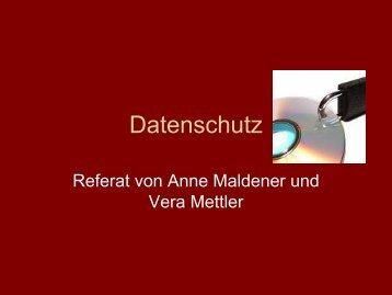 Datenschutz - Privates Johannes-Gymnasium  Lahnstein