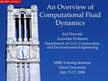 An Overview of Computational Fluid Dynamics - mbr train