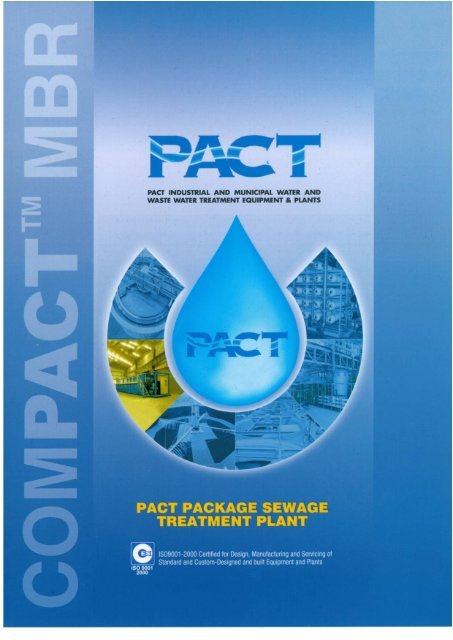 PACT PACKAGE SEWAGE TREATMENT PLANT - PACT Engineering
