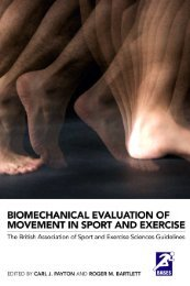 Biomechanical Evaluation of Movement in Sport and Exercise: The ...