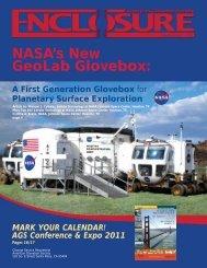 NASA's New GeoLab Glovebox: - American Glovebox Society
