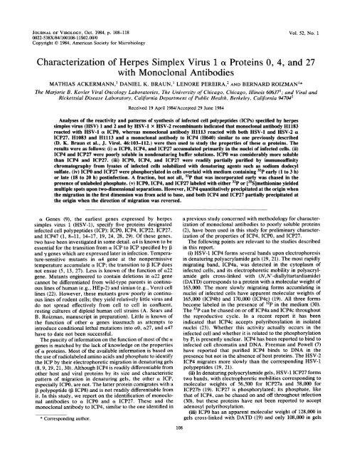 Ackermann, M., Braun, D. K., Pereira, L. & Roizman