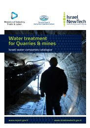 Water treatment for Quarries & mines