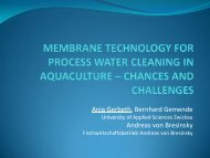 MEMBRANE TECHNOLOGY FOR PROCESS WATER CLEANING ...