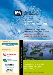 Conference Program - IWA - Kompetenzzentrum Wasser Berlin
