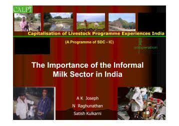 Food - International Livestock Research Institute (ILRI)