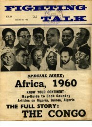 Fighting Talk Volume 14 number 3 August 1960 - DISA