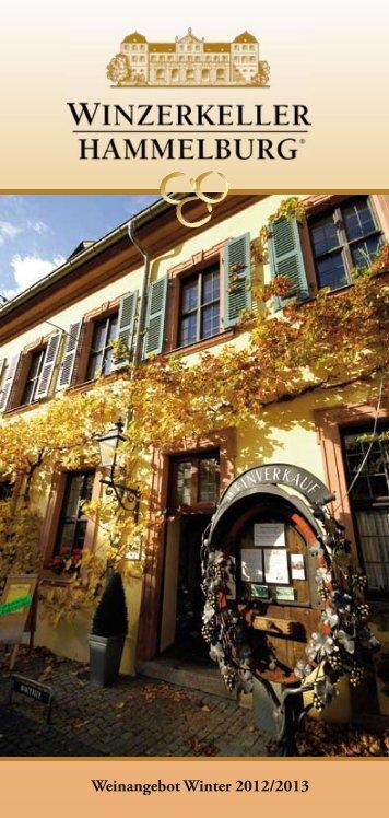 Aktuelle Weinliste als PDF - Winzerkeller Hammelburg