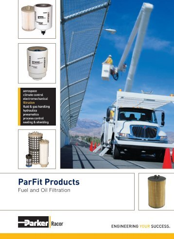 ParFit Products - Parker Hannifin Corporation