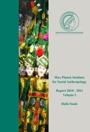 Report 2010-2011 Volume I (PDF) - Max-Planck-Institut für ...