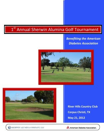 SA and ADA Golf Tournament Sponsorship ... - Sherwin Alumina