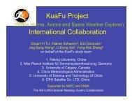 KuaFu Project International Collaboration - International Living With ...