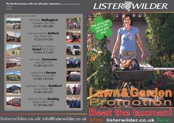 Lawn Garden - Lister Wilder