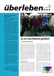 Überleben 2/2001 - Bundesverband Information und Beratung für ...