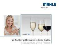 Mit Tradition und Innovation zu bester Qualität ... - MAHLE Industry